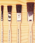 Ox Hair Stroke Brushes