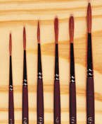 Sable Hair Brushes